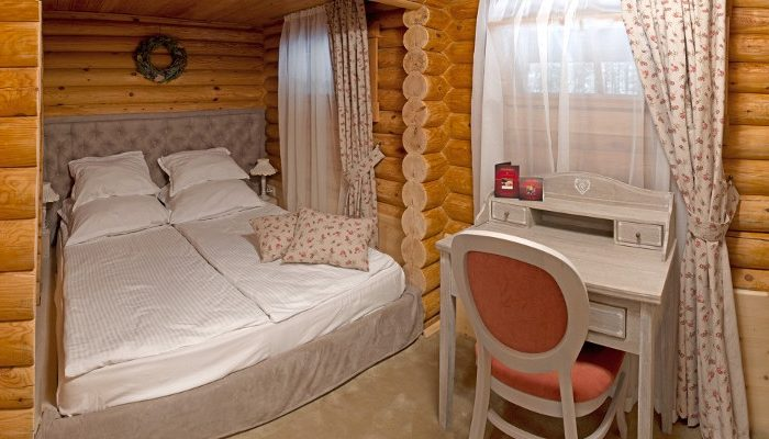 Finnish chalet bedroom