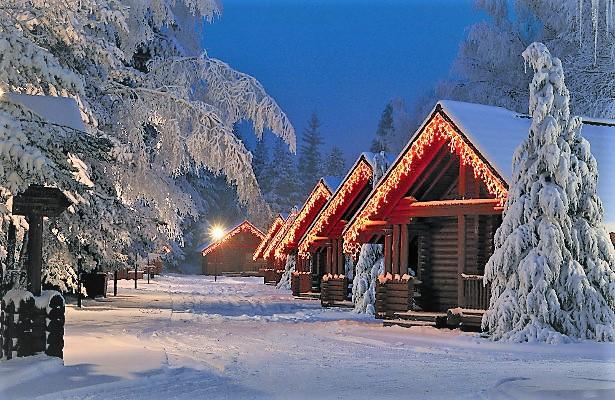 Yastrebets Finnish Chalets Exterior
