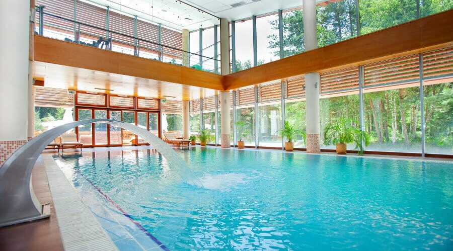 Yastrebets Hotel's indoor pool
