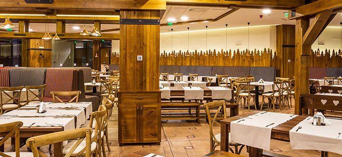 Les Arcs restaurant
