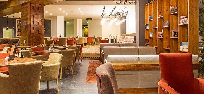 Lobby bar at Rila Hotel