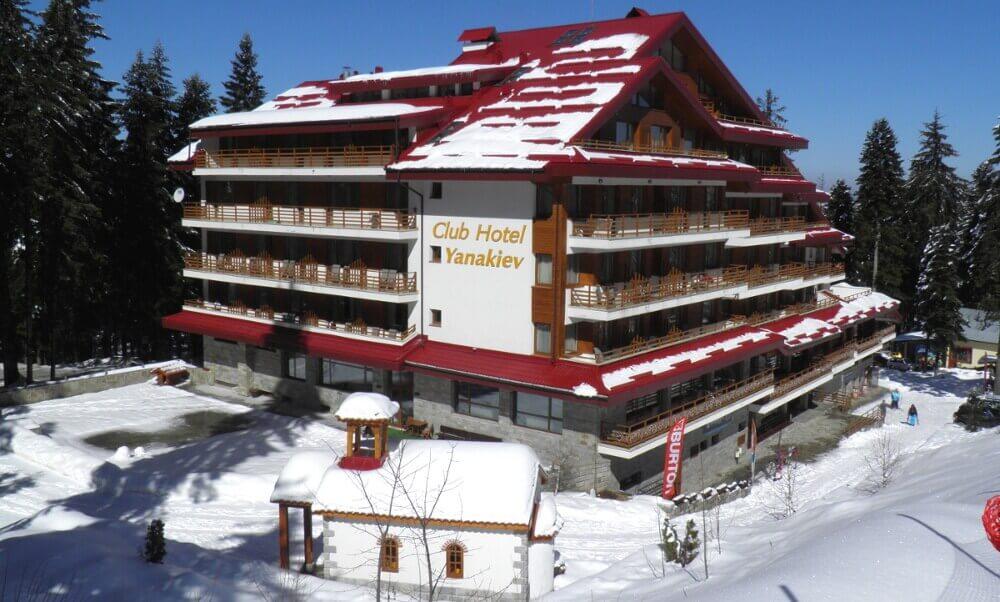 Club Hotel Yanakiev in Borovets ski resort