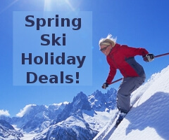 Spring Ski Holiday Deals