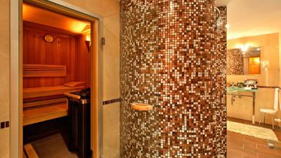 Kempinski Grand Arena Hotel Bansko Alpine Suite Sauna