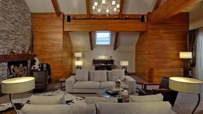 Kempinski Grand Arena Hotel Bansko Presidential Suite Living Room