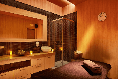Lucky Bansko massage room