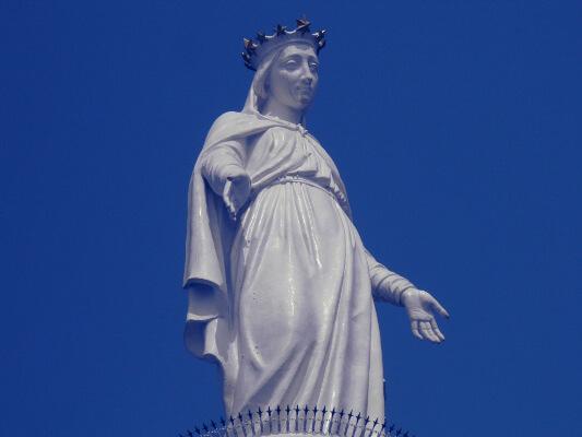 Harissa Statue, Lebanon