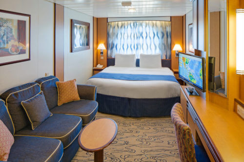 Jewel of the Seas Large Family Ocean View Stateroom