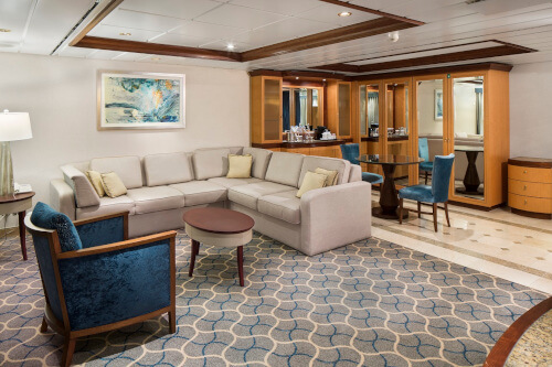 Jewel of the Seas Owner Suite-Living