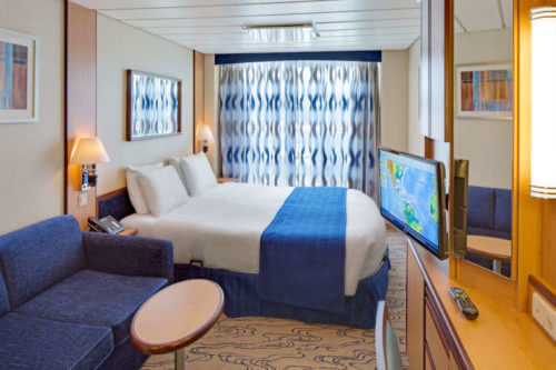 Jewel of the Seas Deluxe Ocean View Stateroom